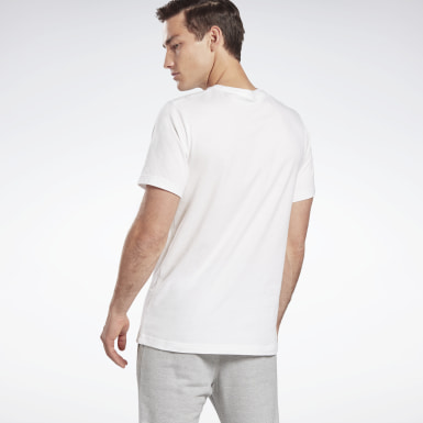 GB M SS COTTON T VCTR Blanco Hombre Fitness & Training