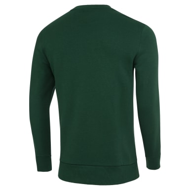 Men Fitness & Training Green Crew Fleece Men