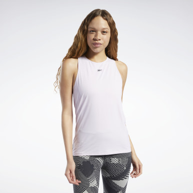 Women Yoga Pink ACTIVCHILL Athletic Tank Top