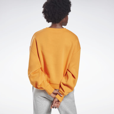 Frauen Studio Oversize Cover-Up Orange