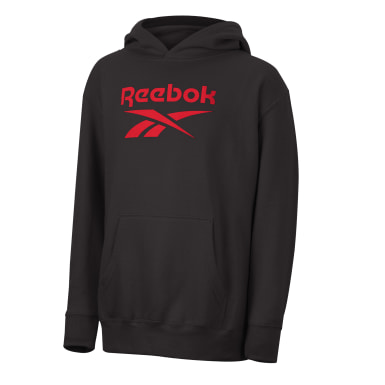 Kids Classics Black Reebok Stacked Vector Sweatshirt
