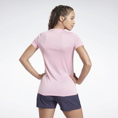 Remera reflectante Reebok One Series Running Mujer Running