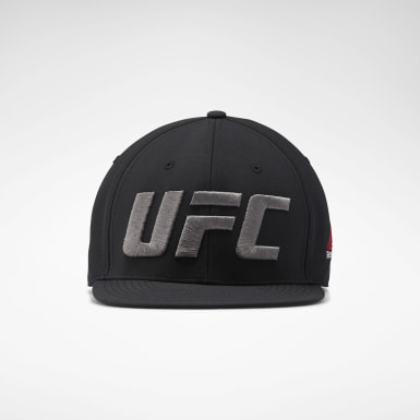 Fitness & Training Black UFC Fight Night Flat Peak Cap