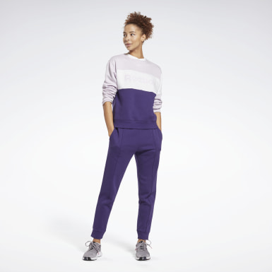 Tuta Linear Logo Crewneck Donna Fitness & Training
