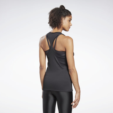 Women Yoga Black Studio Maternity Restorative Tank Top
