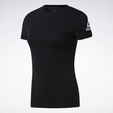 Polo Workout Ready Negro Mujer Running