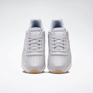 Women Classics Grey Reebok Royal Glide Shoes
