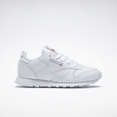 Zapatillas Classic Leather Blanco Niño Classics