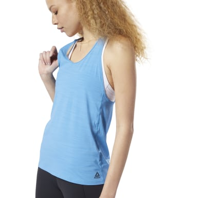 Women Training Blue ACTIVCHILL Tank Top