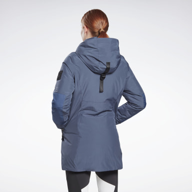 Women Outdoor Blue Outerwear Urban Thermowarm REGUL8 Parka