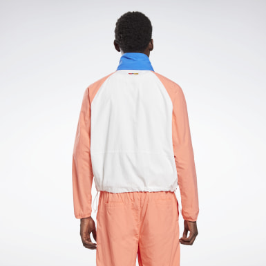 Giacca a vento Reebok by Pyer Moss Pullover Bianco Classics