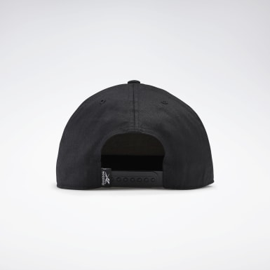 Gorra Active Core Linear Logo Negro Running