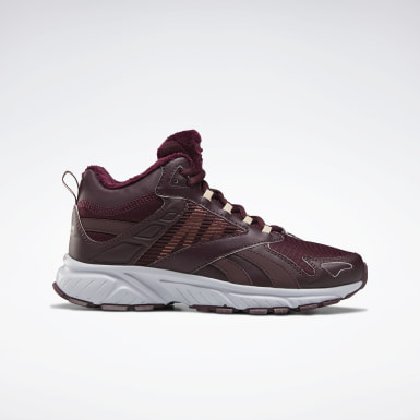 Women Classics Burgundy Reebok Royal Hyperium Hiker Shoes