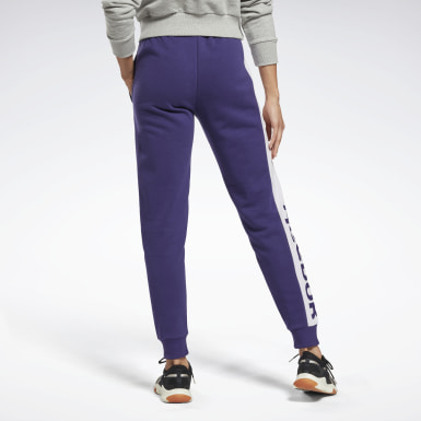 Frauen Fitness & Training Linear Logo French Terry Pants