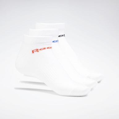 Calcetines tobilleros Active Core - 3 pares Blanco Fitness & Training