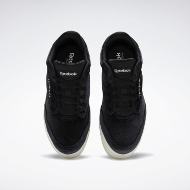 Frauen Classics Reebok Royal Techque Vulcanized Shoes Schwarz