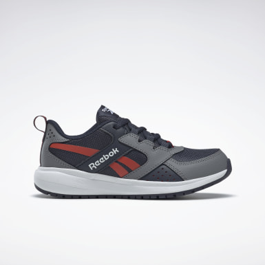 Boys Running Grey Reebok Road Supreme 2 Shoes