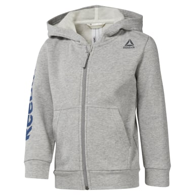 Boys Training Grey Boys Elements Fullzip Hoody