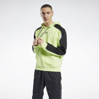 Bluza z kapturem Classics Team Sports Żółty