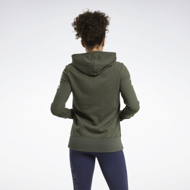 Frauen Cross Training CrossFit® Forging Elite Fitness Hoodie Grün