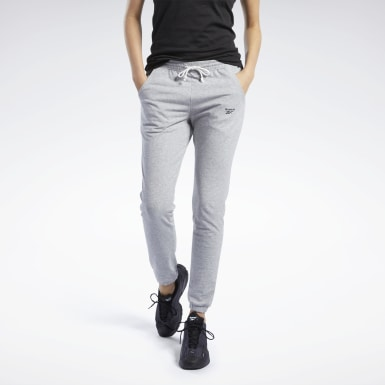 Women Training Grey Training Essentials Pants
