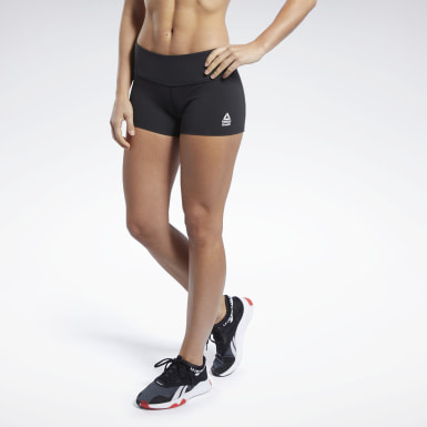Shorts Crossfit® Chase Negro Mujer CrossFit