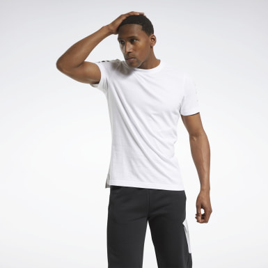 Men Fitness & Training White MYT Graphic Tee