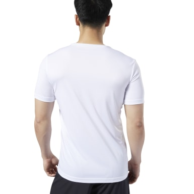 Men Studio White LES MILLS® Graphic Tee