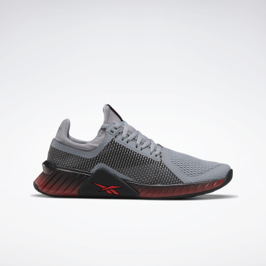 Men Training Grey Flashfilm Trainer Men's Training Shoes