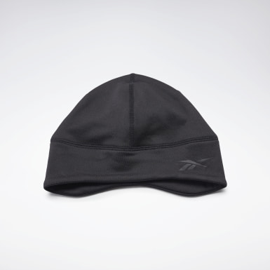 Running Black One Series Running Beanie