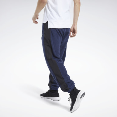 Men Training Blue Workout Ready Pants