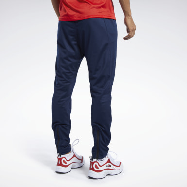 Men Training Blue Workout Ready Track Pant