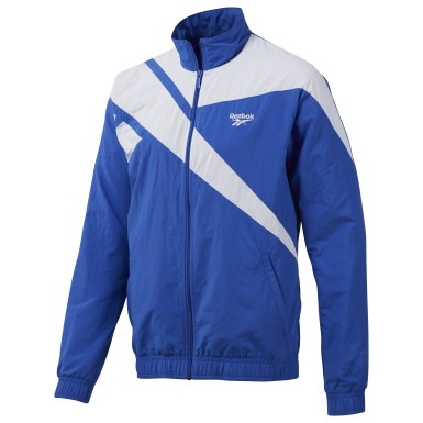 Men Classics Blue Reebok Archive Vector Tracktop