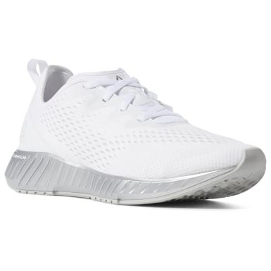 Men Running White Flashfilm Men's Running Shoes