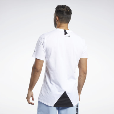 Men Fitness & Training White Archive Evolution Tee