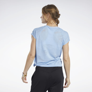 Frauen Yoga Burnout T-Shirt