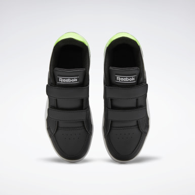 Boys Classics Black Reebok Royal Prime Shoes