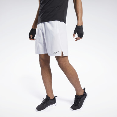Men Training White Speedwick Speed Shorts