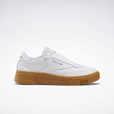 Classics Wit Club C Stacked Schoenen