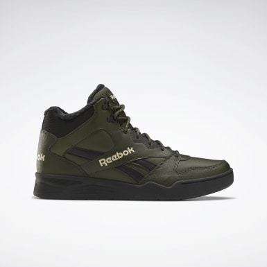 Men Classics Green Reebok Royal BB4500 Hi 2 Shoes