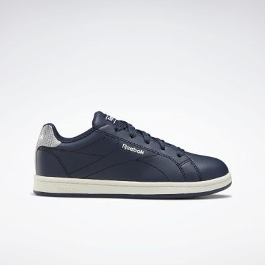 Boys Classics Blue Reebok Royal Complete Clean 2.0 Shoes