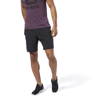 Men Fitness & Training Black Elements Woven Shorts
