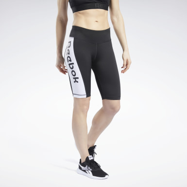 Women Training Black MYT Shorts
