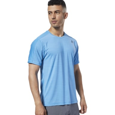 Polera Move M Ost Activchill Move Azul Hombre Fitness & Training