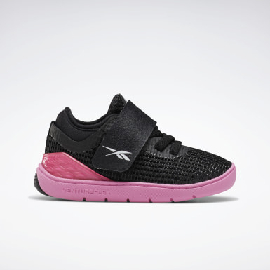 Girls Cross Training Black Reebok Nano X Training Shoes - Toddler