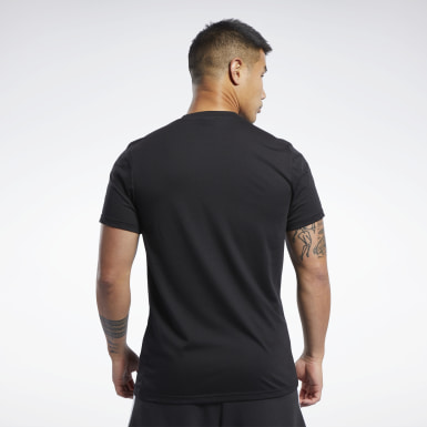 Männer Fitness & Training Combat Wordmark T-Shirt Schwarz