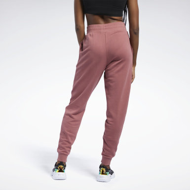 Pantaloni Classics French Terry Rosso Donna Classics