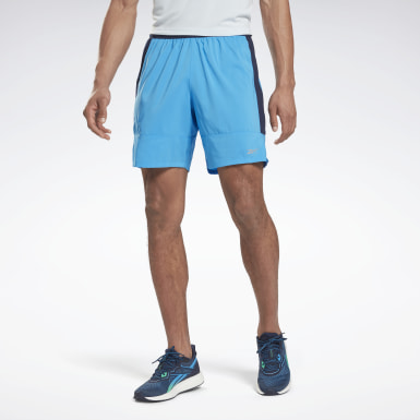 Men Running Blue Running Essentials 7-Inch Woven Shorts