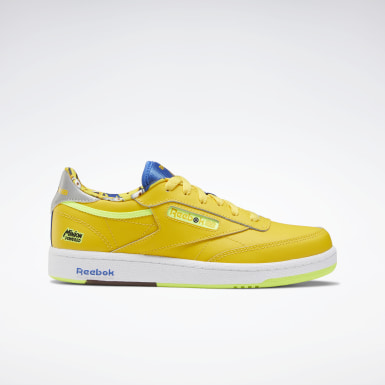 Kids Classics Yellow Minion Club C 85 Shoes