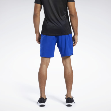 Short Workout Ready Blu Uomo HIIT